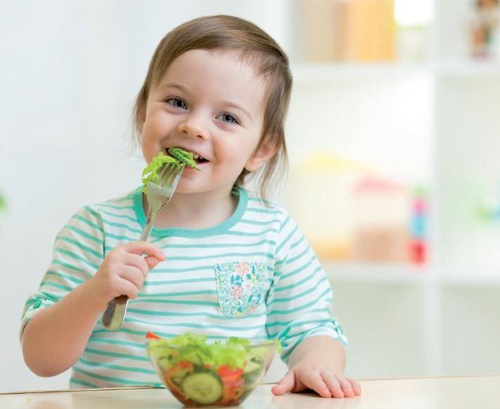 Richtig essen von Anfang an: Ernährungsempfehlungen für ein- bis dreijährige Kinder